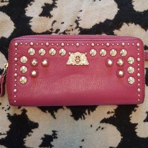Juicy Couture Tough Girl Leather Wallet